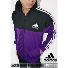 Jacket Adidas Black Purple