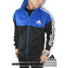 Jacket Adidas Blue n Black