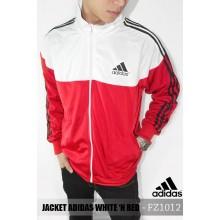 Jacket Adidas White n Red