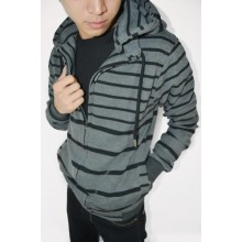 Jacket Stripe Grey n Black