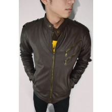 Jacket Leather 2 Zipper