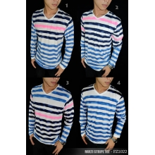 Striped Tee Multi Long Sleeve