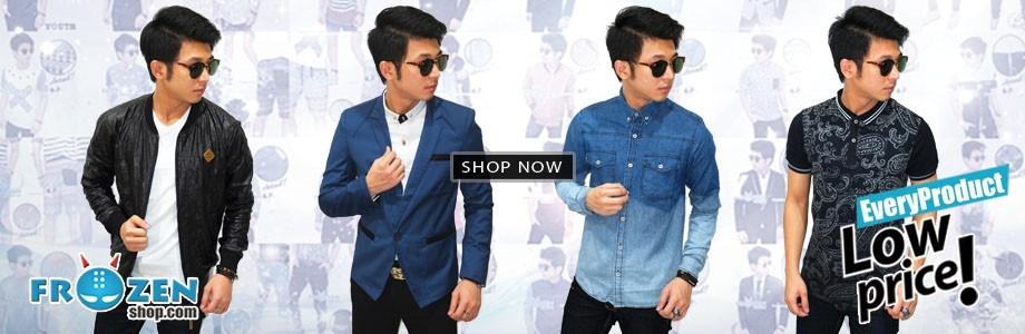 Koleksi Fashion Pria Frozenshop.com Toko Baju Pria Online