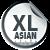 Asian Size XL