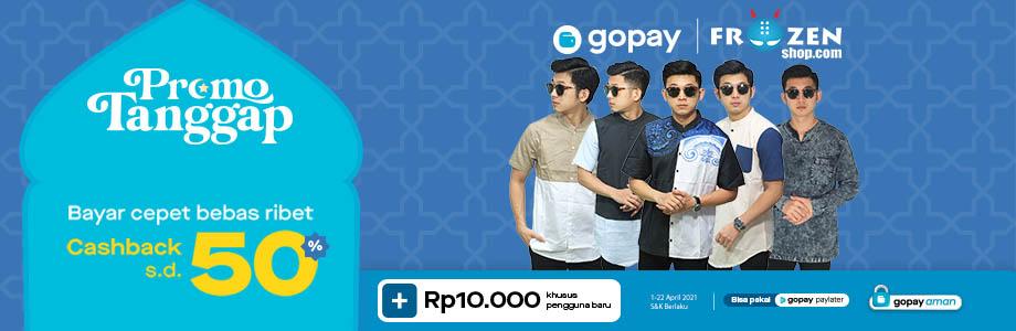 Promo GoPay Ramadhan Sale 2021 - Cashback 50% Maksimal Rp. 10.000