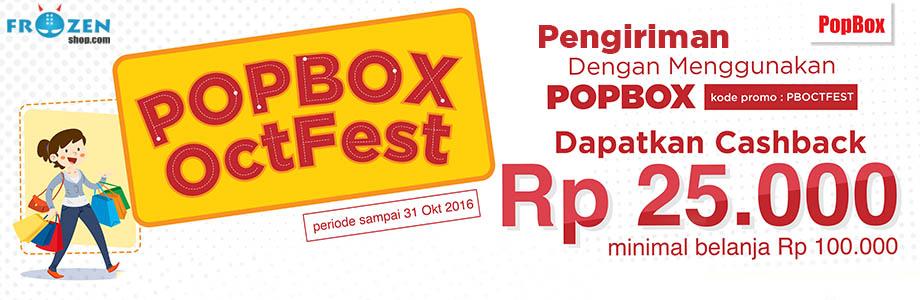 diskon cashback 25rb, popbox octfest