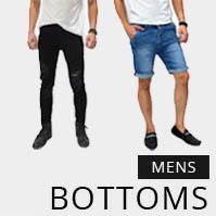 Koleksi berbagai fashion celana pria terbaru, dari celana panjang jeans, celana pendek jeans, celana chino, celana casual, jeans ripped, celana jogger atau jogger pants, hingga sweatpants