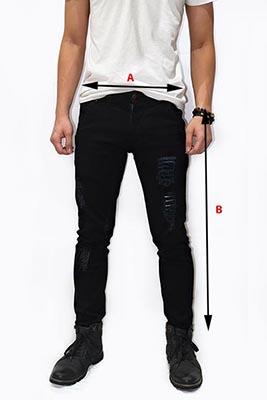 petunjuk pengukuran celana pria